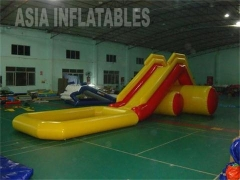 Inflatable Water Pool Slide Tubes Small Water Park