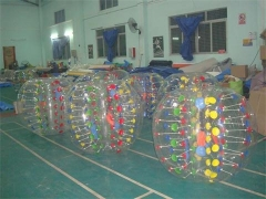 Colors Dots Bubble Soccer