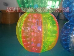 Various Styles Multi-Colors Bubble Soccer Ball