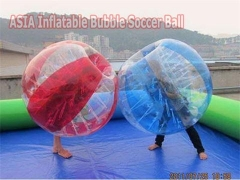 Various Styles 5 Foot Half Color Bumper Balls