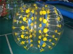 Color Dots Bubble Soccer Ball