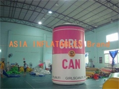 Full Color Inflatable Pop-Top Can