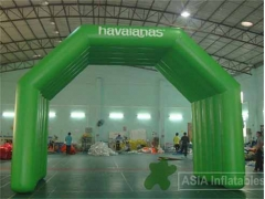 26 Foot Green Inflatable Arch Tent