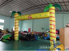 Inflatable Palm Tree Truss Arch