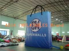 Blue Inflatable Bag Model
