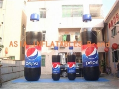 Inflatable PEPSI Cola Bottle
