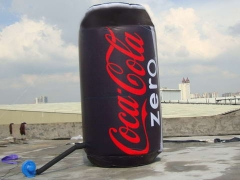 Coca Cola Inflatable Can. Top Quality, 3 Years Warranty.