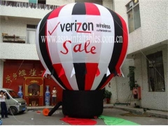 Excellent Rooftop Balloon with Banners for Sales Promotions