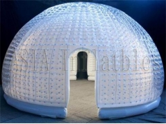 Double Layers Inflatable Bubble Room