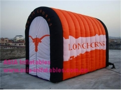 Inflatable Long Horns Tunnel