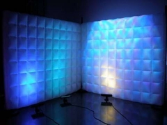Lighting Inflatable Decoration Wall