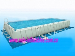 Rectangular Metal Frame Swimming Pool