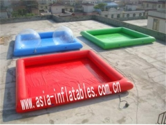 Single Color Inflatable Pool