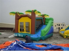 Palm tree Jungle Bounce House
