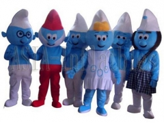 The Smurfs Mascot Costume
