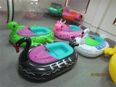 Black Duck Inflatable Bumper Boat