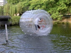 Transparent Water Roller