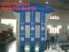 6 Riders Inflatable Flying Fish Boat
