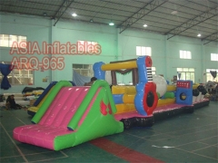 Twin Track Pool Inflatables