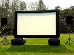 Air Seald Inflatable Movie Screen