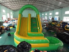 Inflatable Curved Water Slide