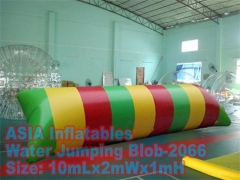 Colorful Inflatable Water Blast Blob