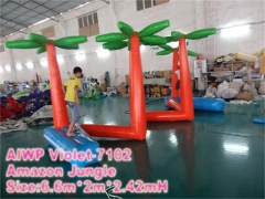 Stylish Amazon Jungle in Water Park
