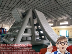 The Biggest Inflatable Water Park USA