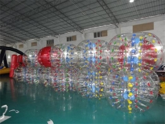 Color Dots Bubble Soccer