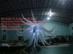 12 Foot LED Lights Inflatable Star