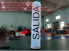 10 Foot Inflatable Cylinder