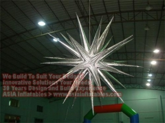 Silvery Inflatable Star
