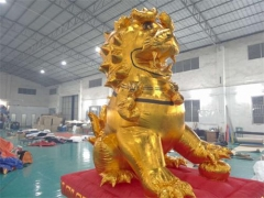Inflatable Lion Cartoon Model