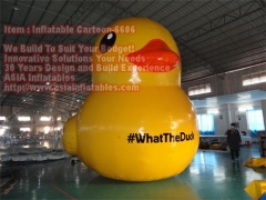 6m High Inflatable Duck