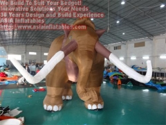 Inflatable Mammoth Cartoon