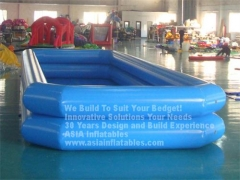 Double Tubes Inflatable Pool