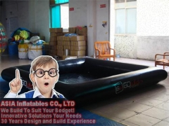 Black Inflatable Pool