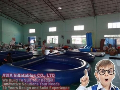 Sealed Inflatable Pool