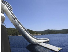 World First Yacht Slide
