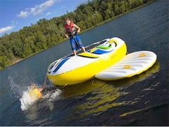 Free Style Water Trampoline Combo