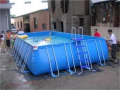 Backyard Metal Frame Swimming Pool
