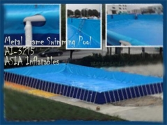 Metal Frame Swimming Playground