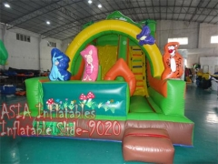 17 Foot Inflatable Jungle Slide