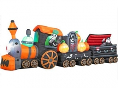 Halloween Inflatable Train Decoration