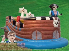 Inflatable Pirate Slide Combo