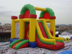 Backyard Bounce House Slide Combo