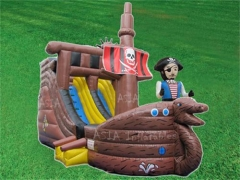 Inflatable Pirate Boat Slide