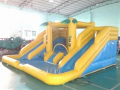 Tropical Splash Inflatable Water Slide