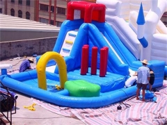Splash Inflatable Water Slide