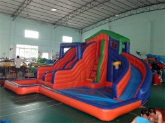 Blast Zone Inflatable Water Slide